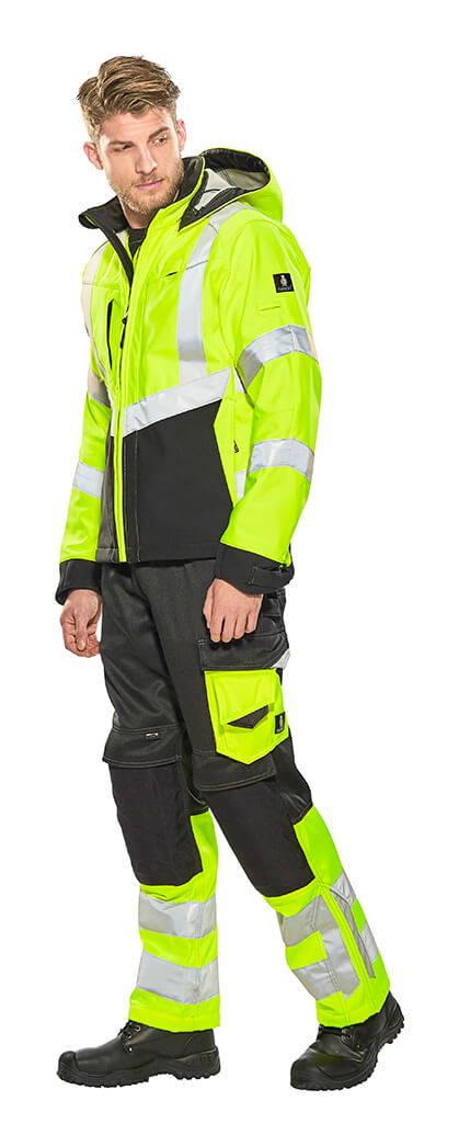 MASCOT® SAFE SUPREME Safety clothing - Fluorescent yellow - Model