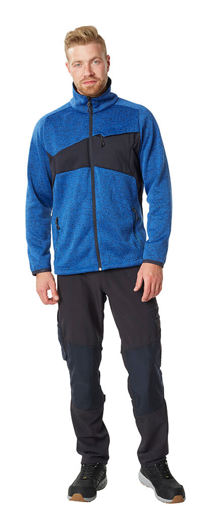 Trousers & Work Jacket - Royal blue & Black - MASCOT® ACCELERATE - Man