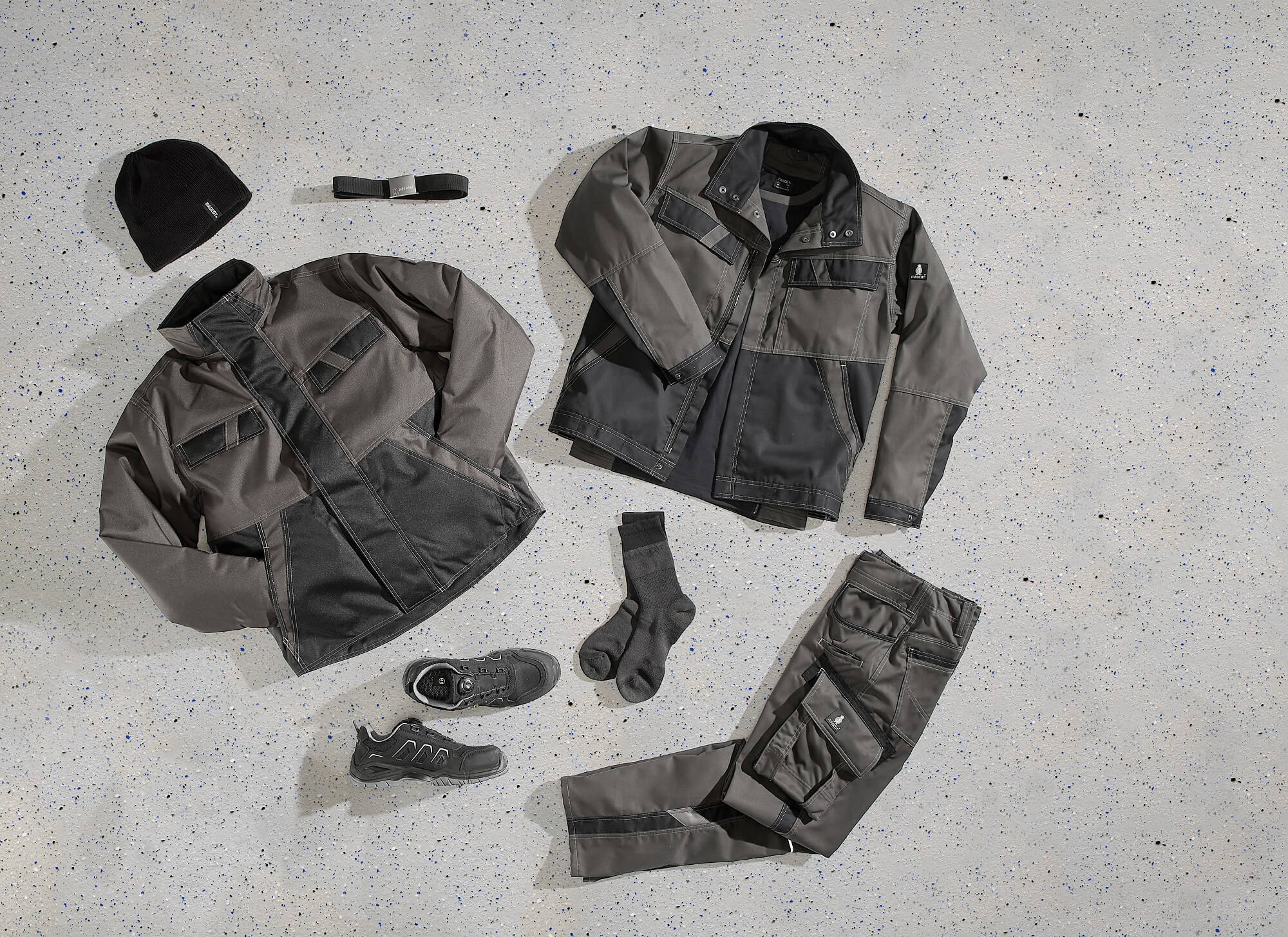 Grey - Workwear & Accessories - Collage<p />