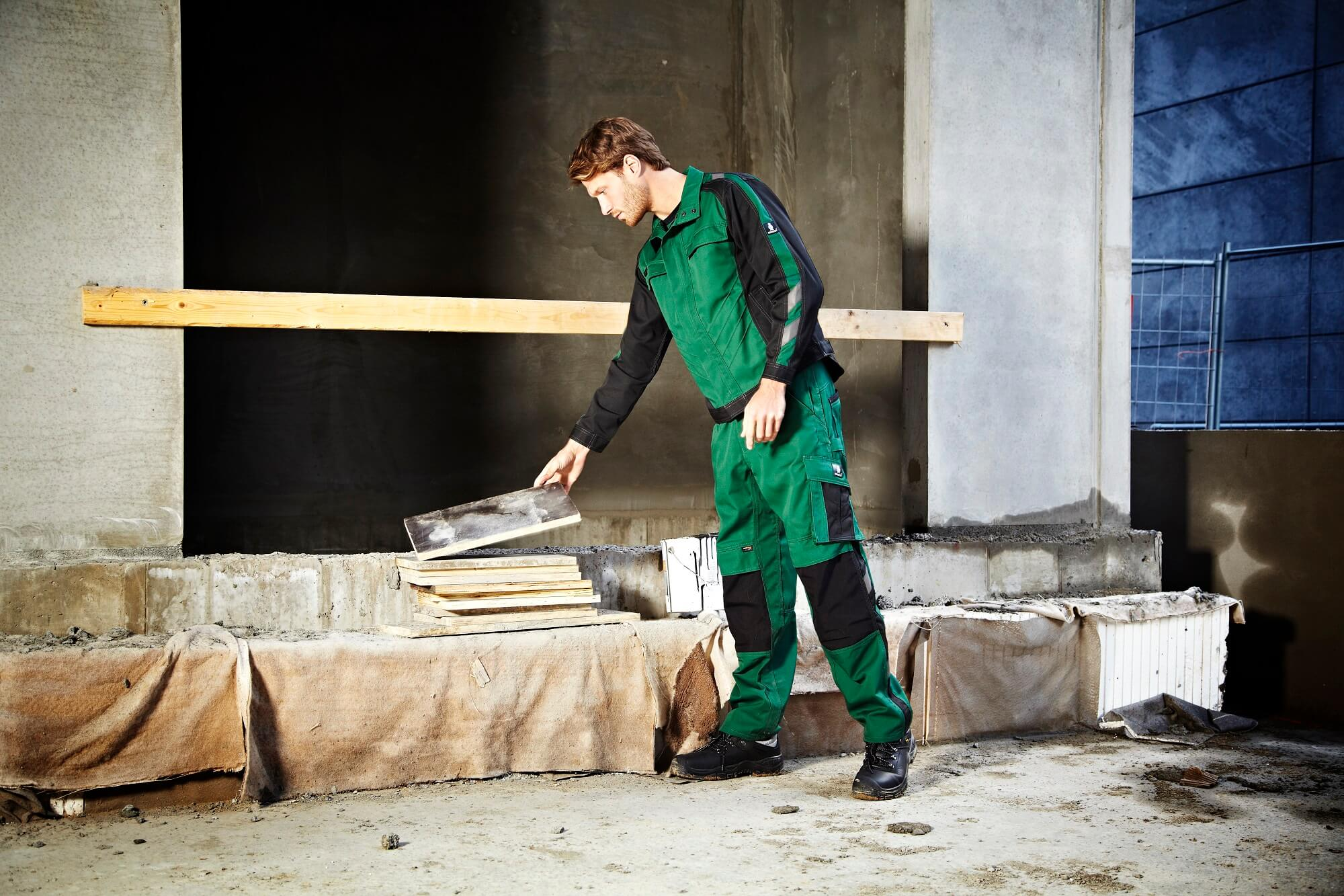 MASCOT® UNIQUE Green - Jacket & Trousers - Environment