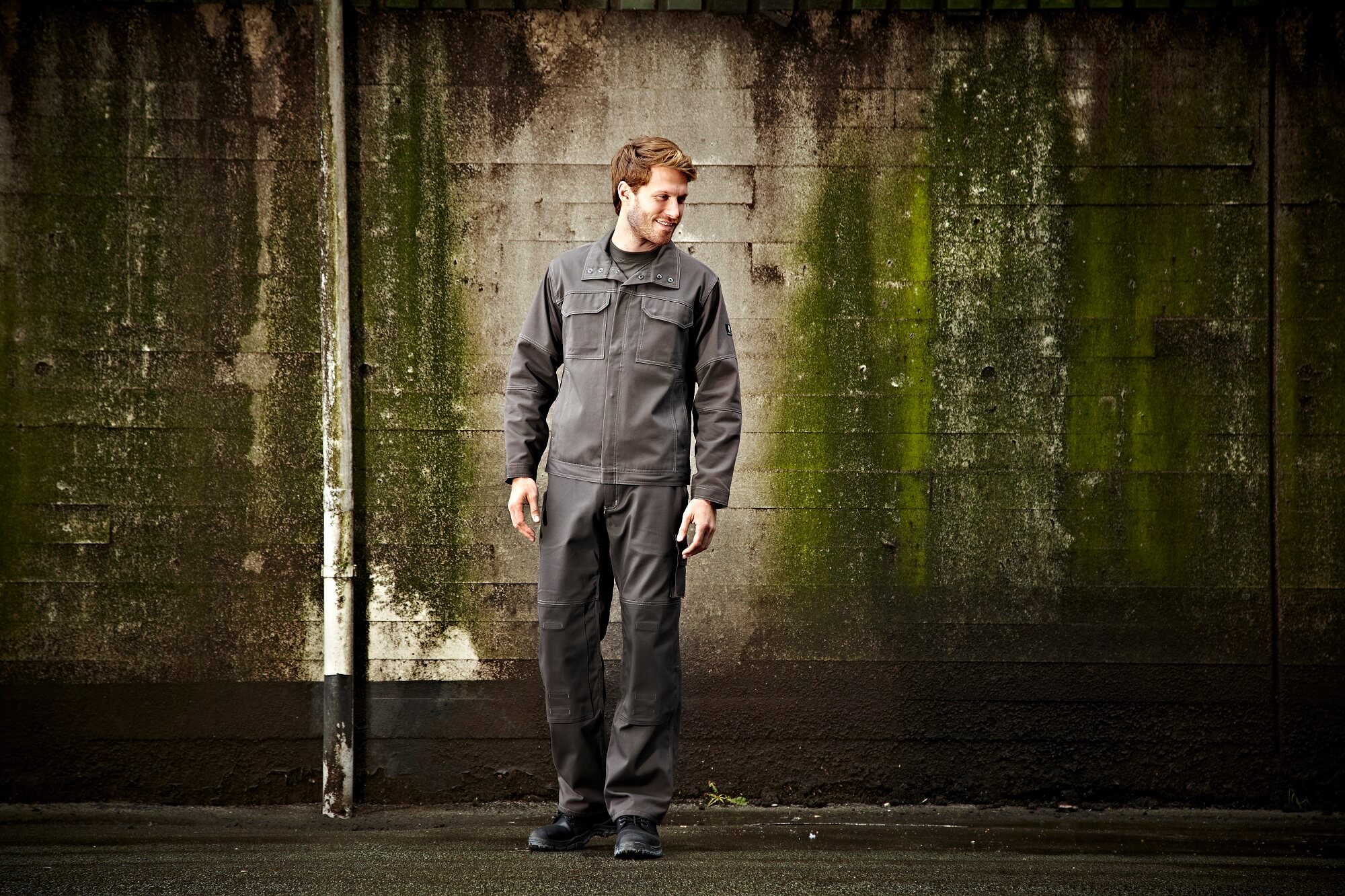 Man - Work Trousers & Jacket Grey - MASCOT® INDUSTRY - Environment