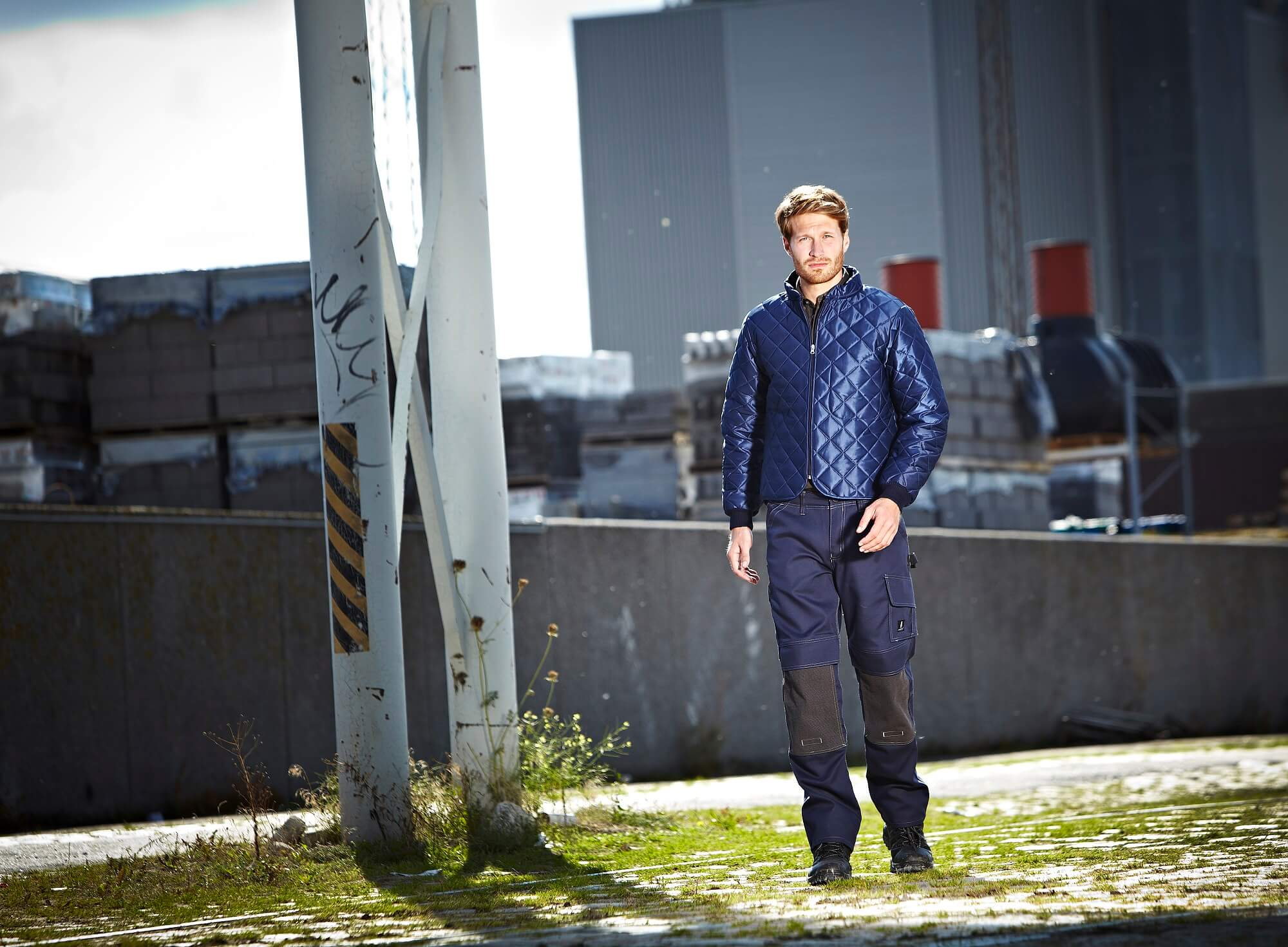 Environment - Thermal Jacket & Work Trousers - Navy