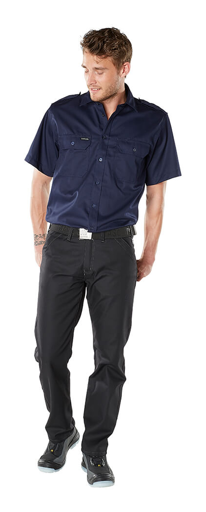 Model - Trousers with thigh pockets & Work Shirt - FRONTLINE