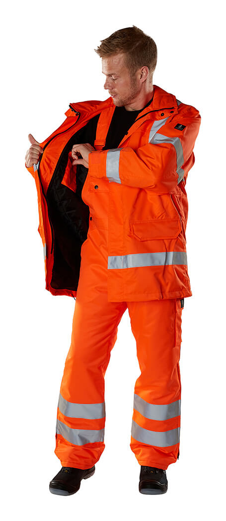 Safety Clothing - Model - Fluorescent orange - MASCOT® SAFE ARCTIC