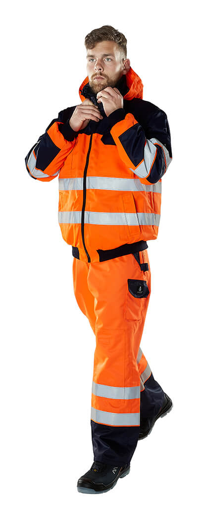 MASCOT® SAFE IMAGE Workwear - Fluorescent orange - Model