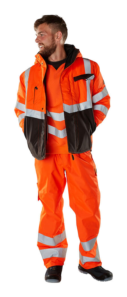 Protective clothing - Fluorescent orange - MASCOT® SAFE SUPREME - Model