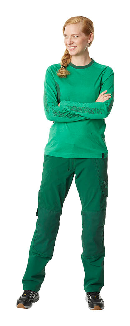 Trousers & Jumper for women - Model - Green - MASCOT® ACCELERATE