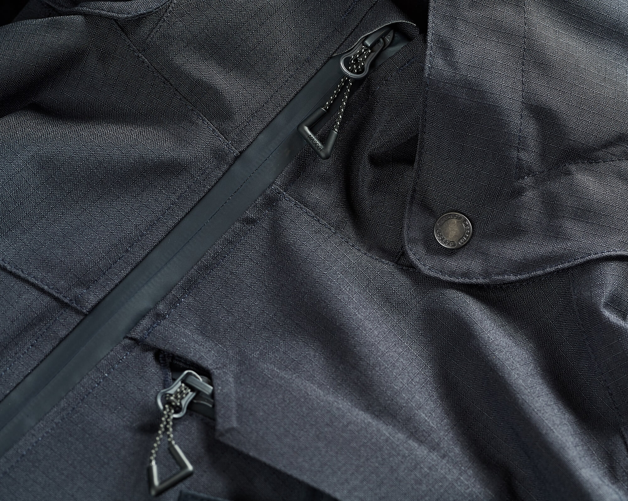 Work Jacket - MASCOT® ACCELERATE - Navy - Detail