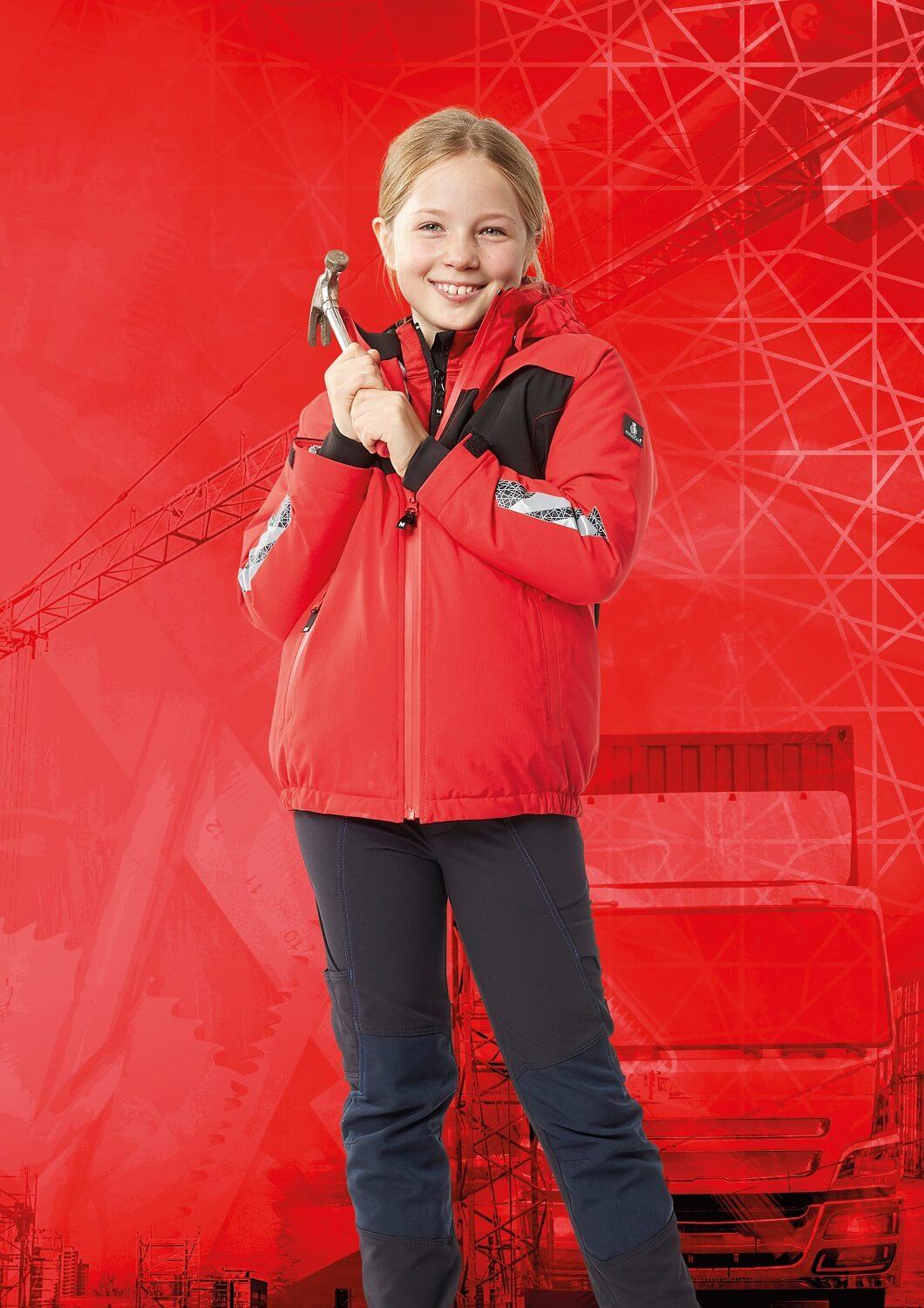 Jacket for children & Trousers - Red & Black - MASCOT® ACCELERATE
