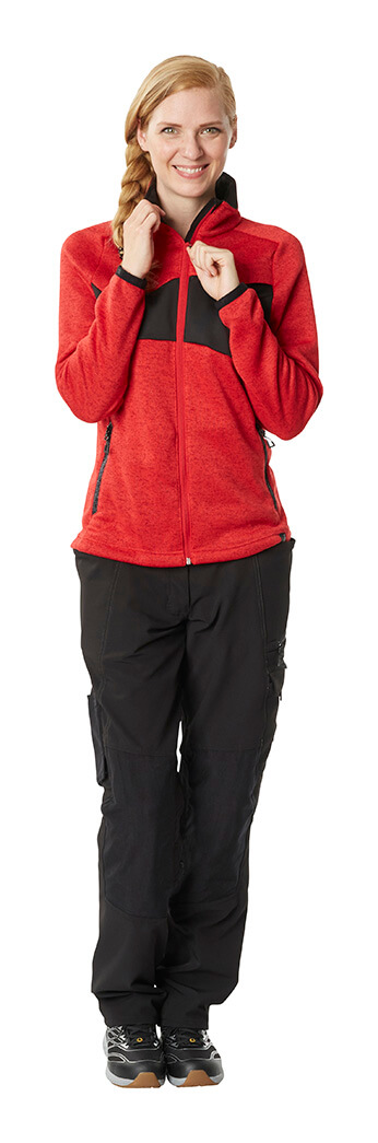 Knitted Jumper with zipper & Work trousers for women - Model - MASCOT® ACCELERATE