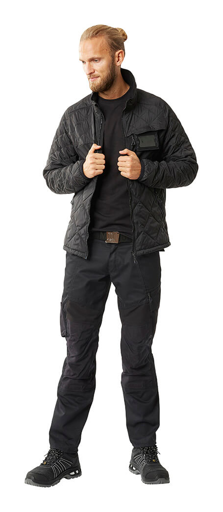 Black - MASCOT® ACCELERATE Thermal Jacket & Trousers - Man