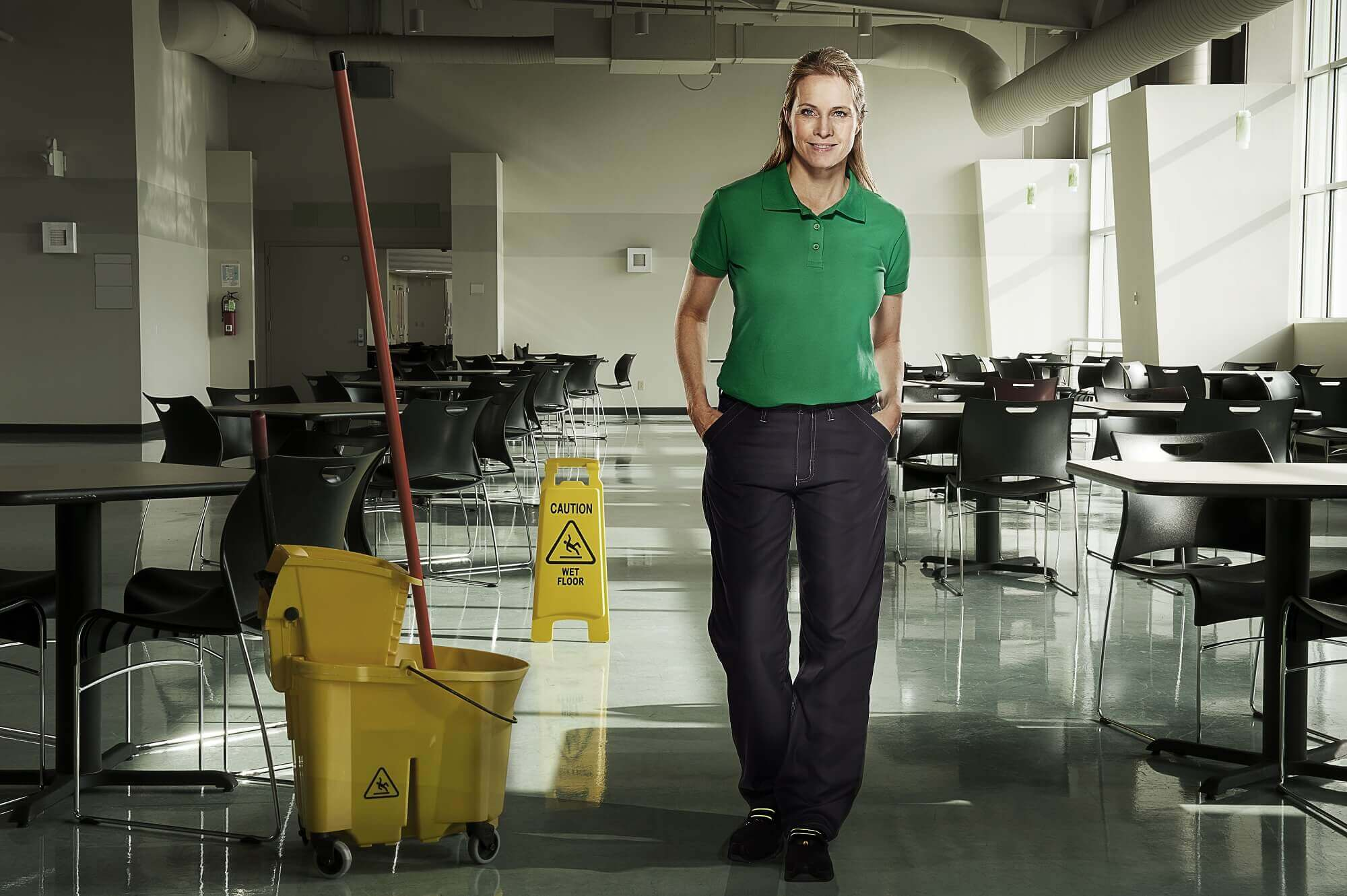 Woman - MASCOT® CROSSOVER Polo shirt & Trousers - Environment
