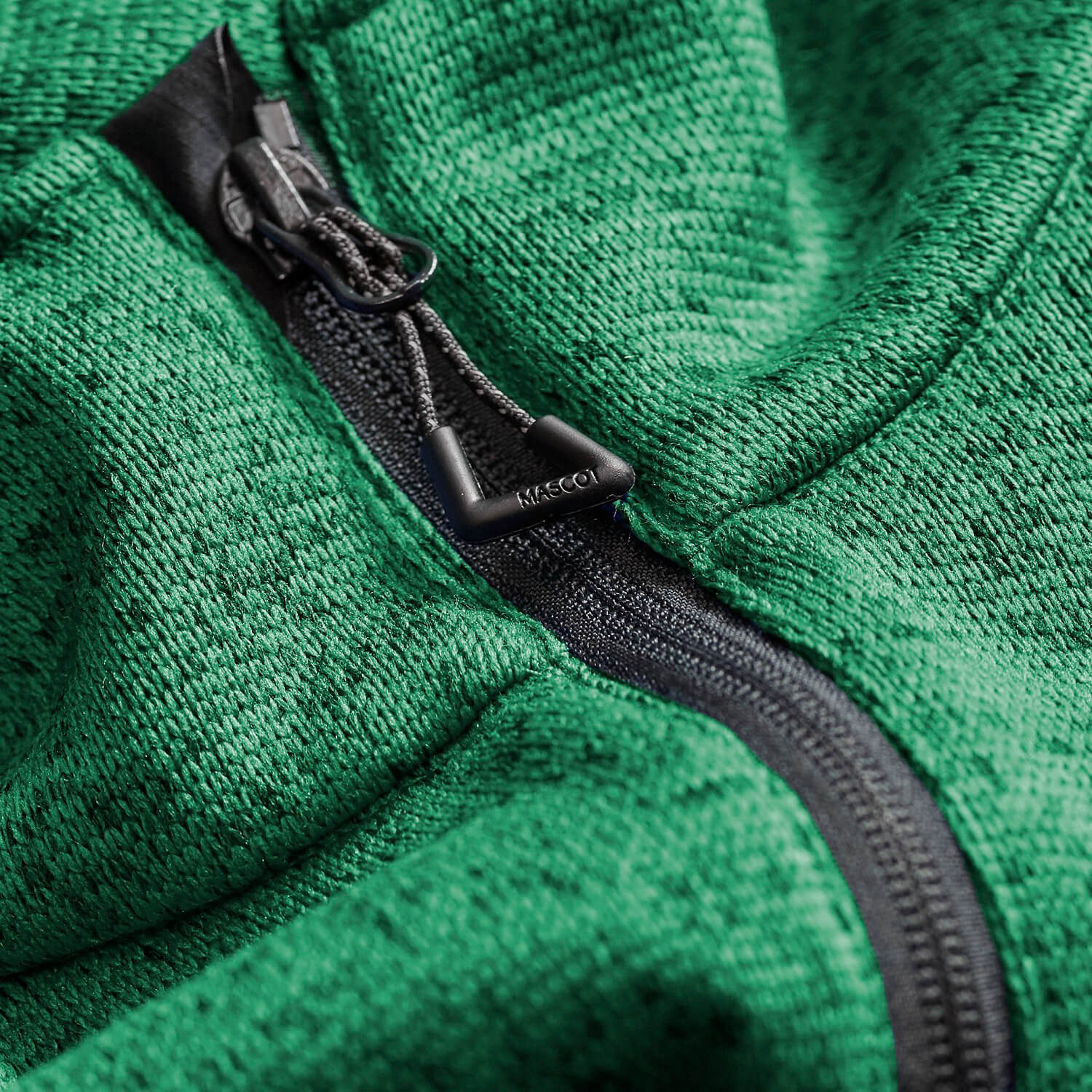 Green - MASCOT® ACCELERATE Knitted Jacket - Detail