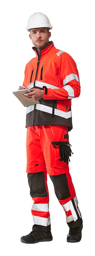 MASCOT® SAFE YOUNG Workwear - Fluorescent red - Model
