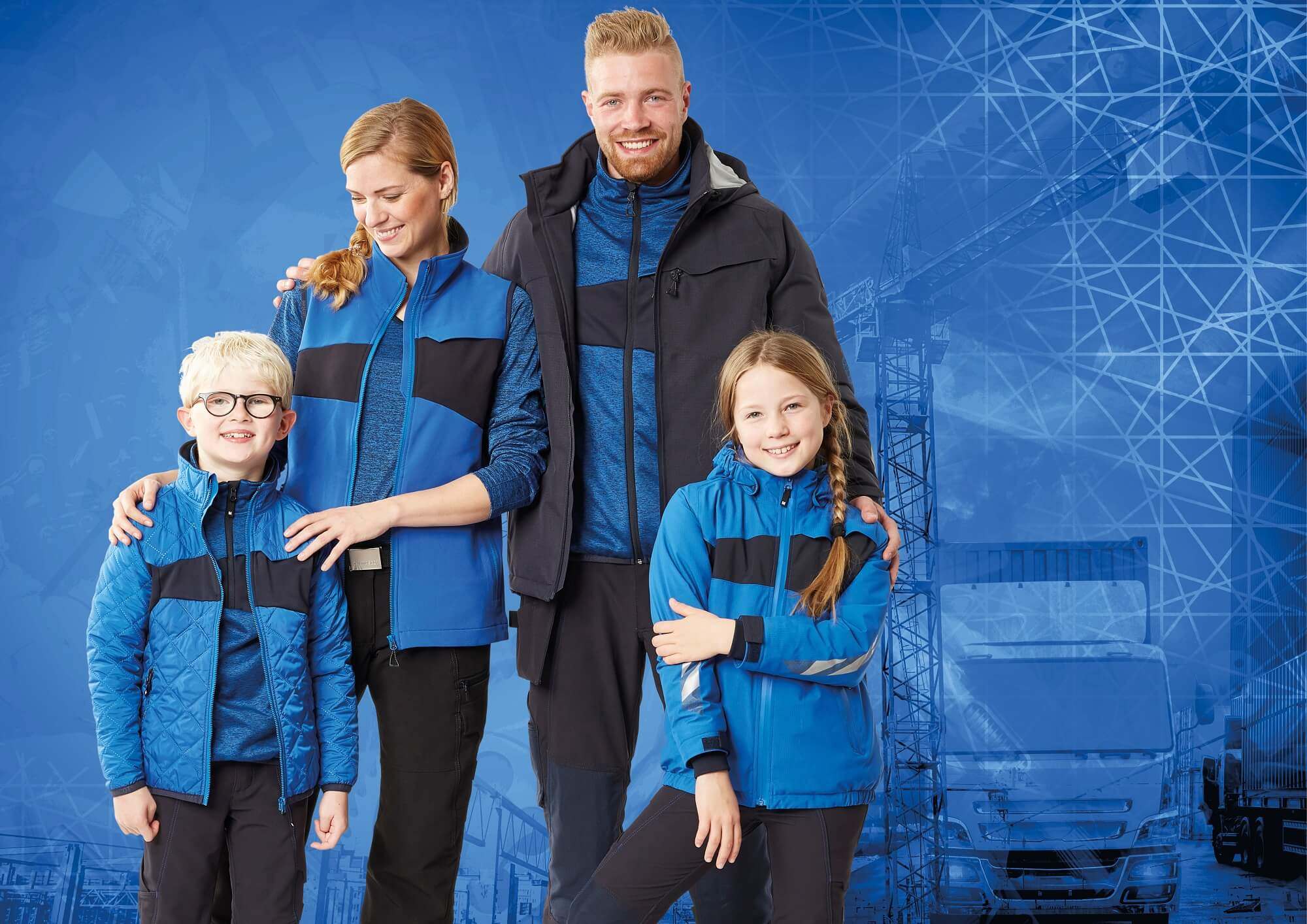 MASCOT® ACCELERATE Clothes - Royal blue - Woman, Man & Children
