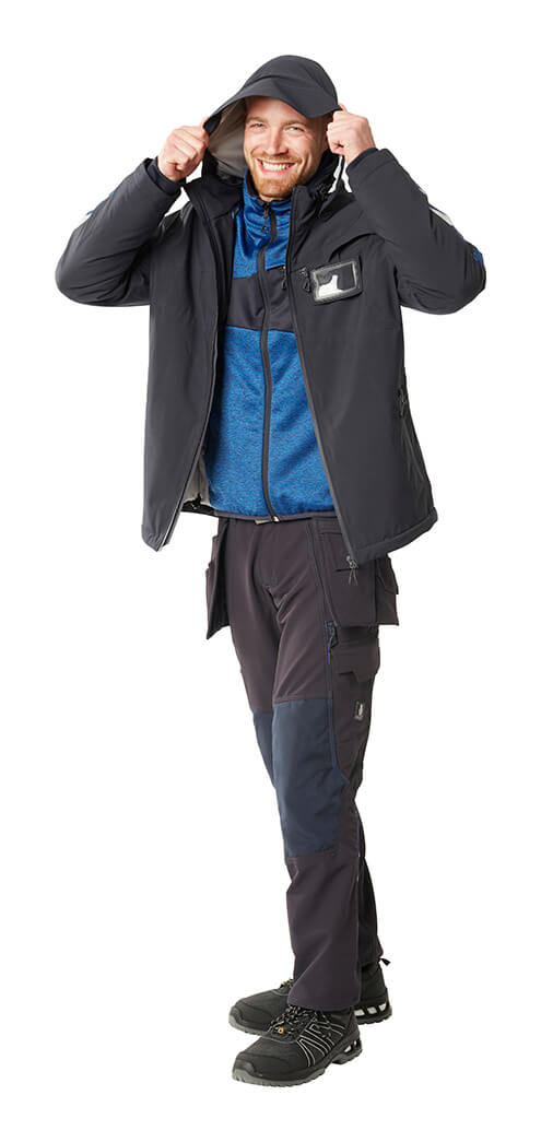 MASCOT® ACCELERATE Trousers with holster pockets, Jacket & Jumper - Man