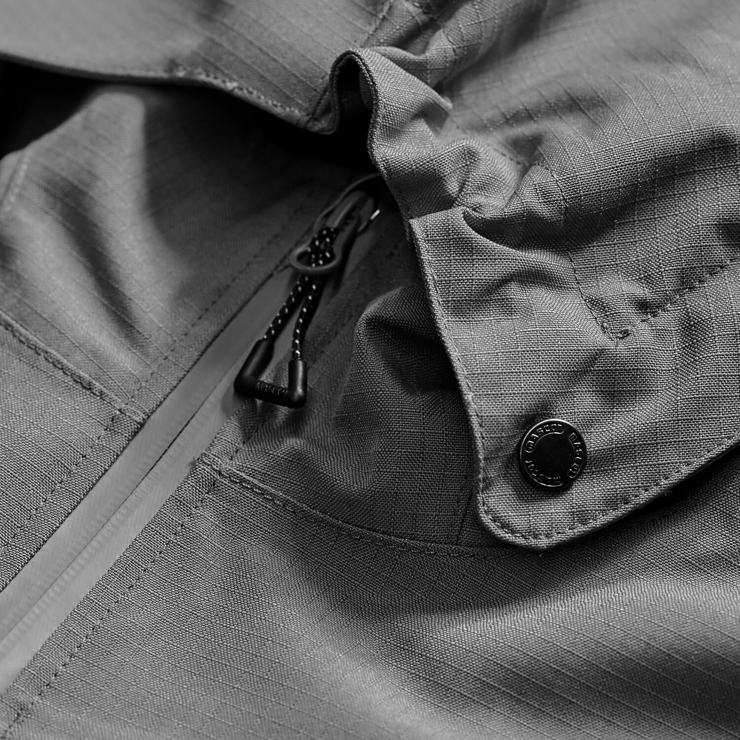 Grey - Work Jacket - MASCOT® ACCELERATE - Detail