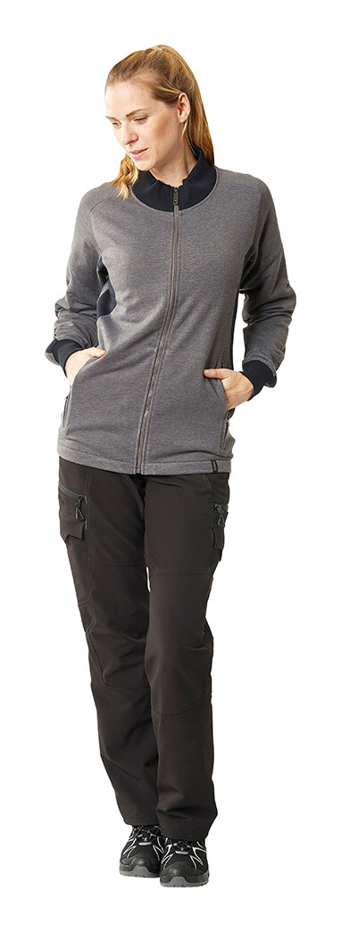 Grey & Black - Jumper for women & Trousers - MASCOT® ACCELERATE - Model