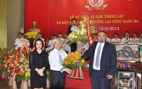 Award for production in Vietnam 2013