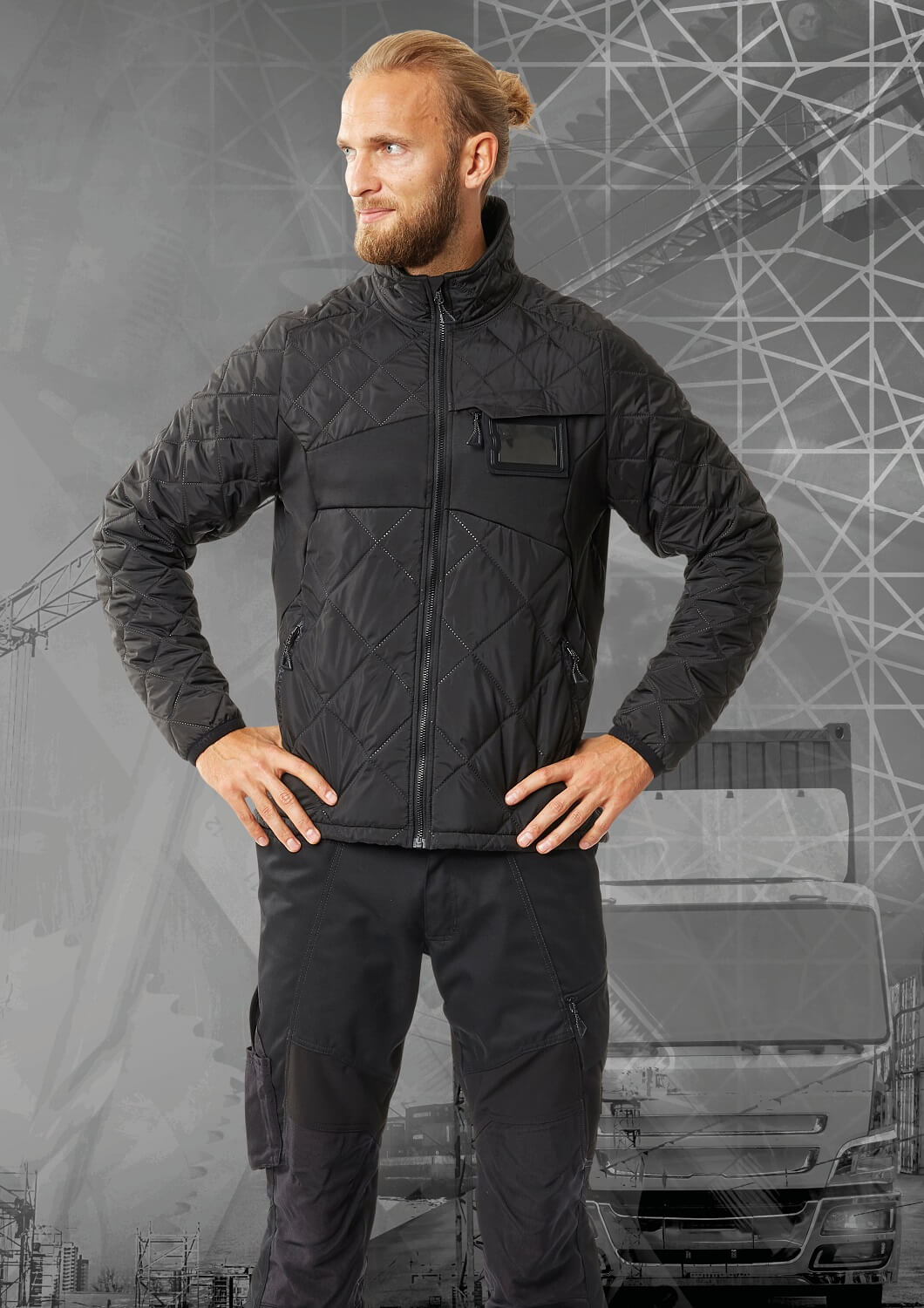 MASCOT® ACCELERATE - Thermal Jacket - Man - Black