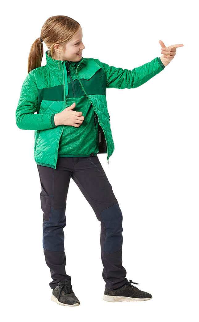 Green - Jacket for children, Jumper & Trousers - MASCOT® ACCELERATE