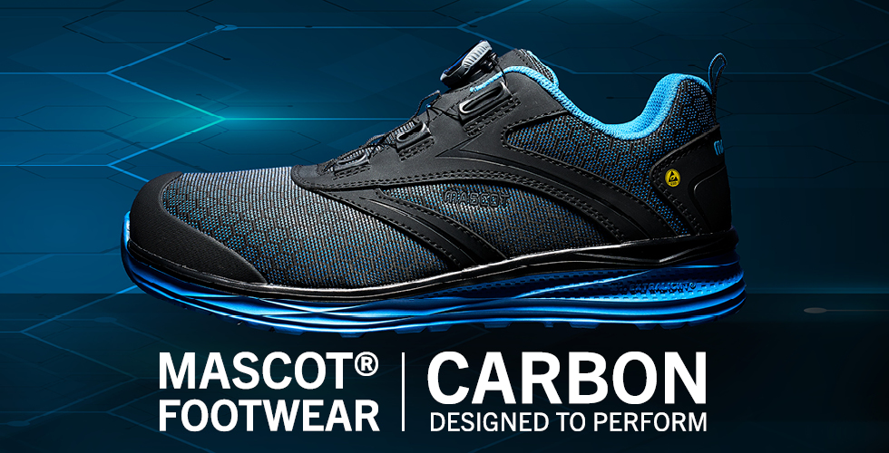 2020 - MASCOT® FOOTWEAR CARBON | Designed to Perform-Safety Shoes-BOA® Fit System, F0251-909