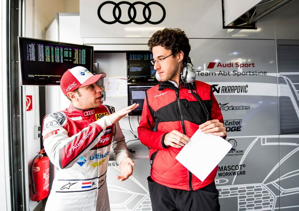 2 Man - Official supplier for Audi Sport - MASCOT