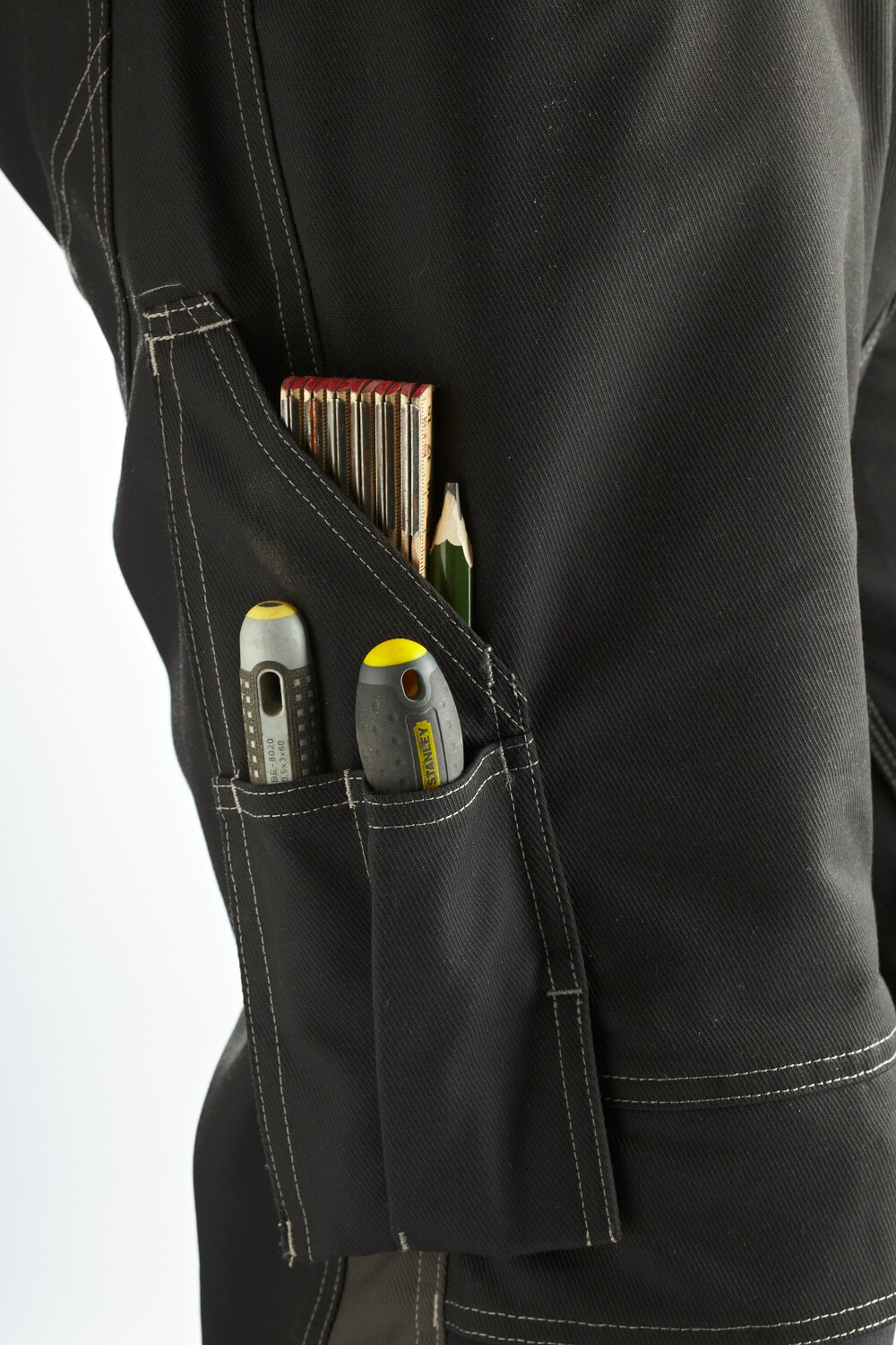 Thigh pocket with ruler pocket. - MASCOT® UNIQUE - Detail