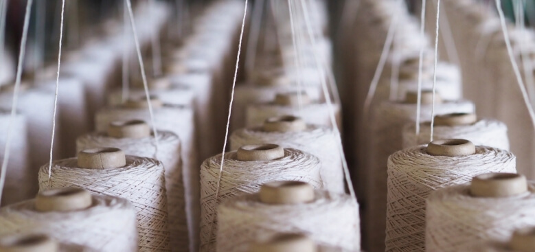 Fabric and other raw materials -Recycled resources