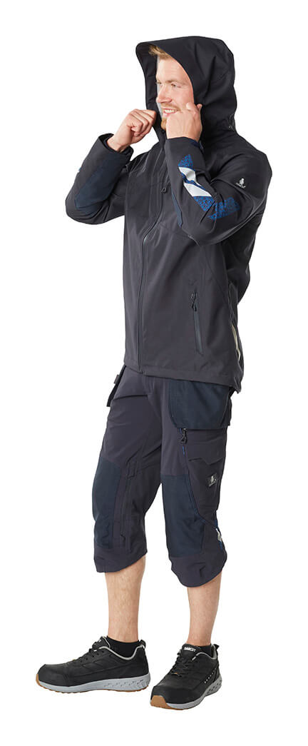 Navy - Outer Shell Jacket & ¾ length trousers - MASCOT® ACCELERATE - Model