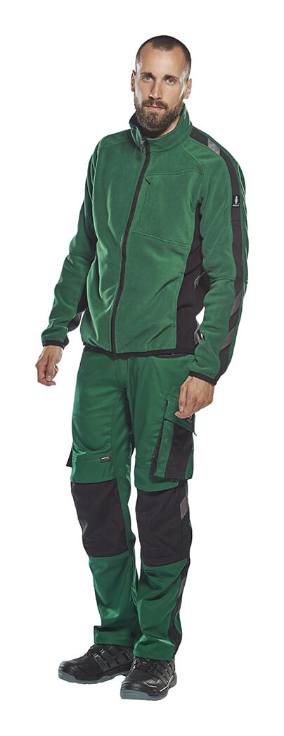 Man - UNIQUE Fleece Jacket & Trousers - Green