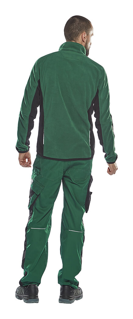 UNIQUE Fleece Jacket & Trousers - Green - Man