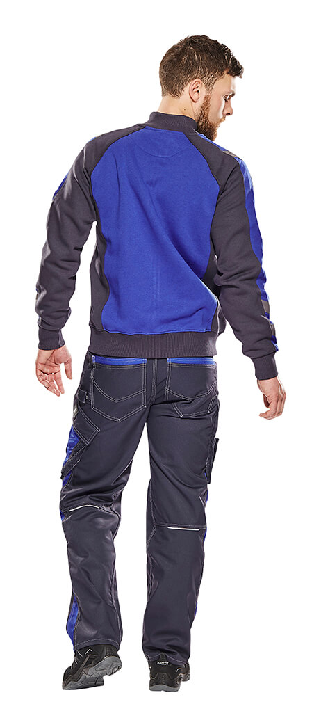 Work Jumper & Trousers - Model - MASCOT® UNIQUE - Royal blue