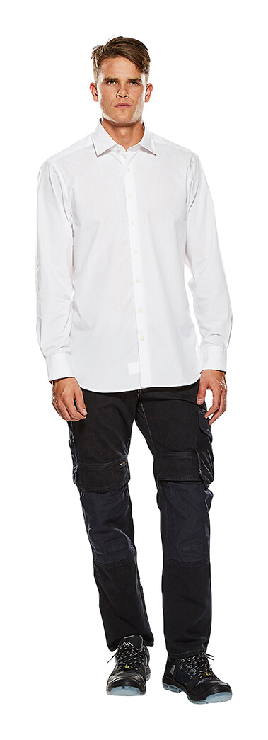 Long Sleeve Shirt White - Man