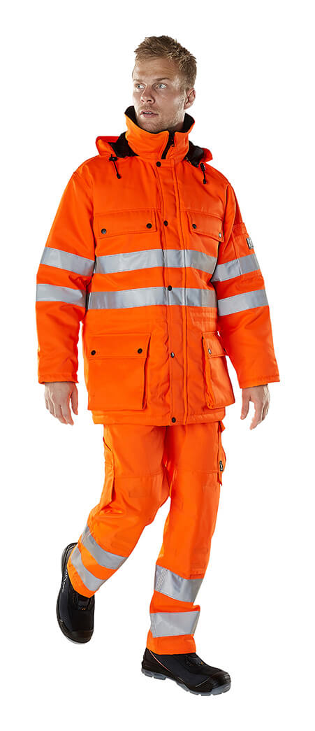 Model - Winter Clothing - Fluorescent orange - MASCOT® SAFE ARCTIC