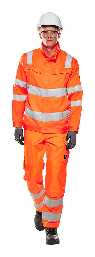 MASCOT® SAFE LIGHT Workwear - Fluorescent orange - Model